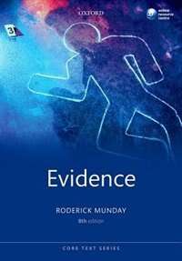Book Evidence by Roderick Munday