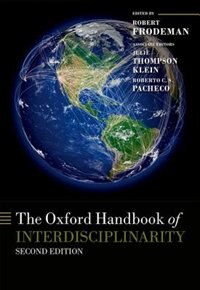 Book The Oxford Handbook of Interdisciplinarity Second Edition by Robert Frodeman