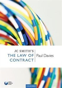 Book JC Smiths The Law of Contract by Paul S. Davies