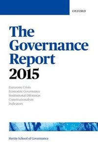 Book The Governance Report 2015 by The Hertie School of Governance