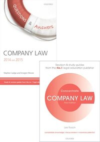 Company Law Revision Pack 2014: Law revision and study guide