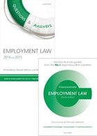 Employment Law Revision Pack 2014: Law revision and study guide