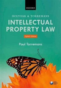 Book Holyoak and Torremans Intellectual Property Law by Paul Torremans