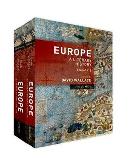 Book Europe: A Literary History, 1348-1418 by David Wallace