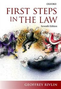 Book First Steps in the Law by Geoffrey Rivlin