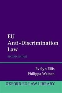 Book EU Anti-Discrimination Law by Evelyn Ellis