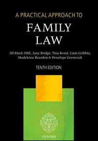 Book A Practical Approach to Family Law by Jill Black