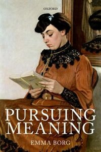 Book Pursuing Meaning by Emma Borg