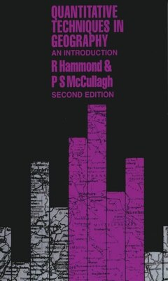 Book Quantitative Techniques in Geography: An Introduction by R. Hammond