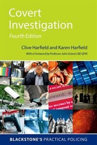 Book Covert Investigation by Clive Harfield