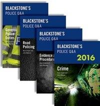 Blackstones Police QandA: Four Volume Pack 2016