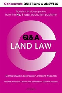 Book Concentrate Questions and Answers Land Law: Law QandA Revision and Study Guide by Margaret Wilkie