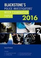Blackstones Police Investigators Mock Examination Paper 2016