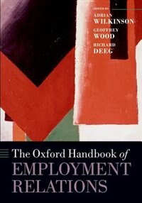 Book The Oxford Handbook of Employment Relations by Adrian Wilkinson