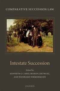 Book Comparative Succession Law: Volume II: Intestate Succession by Kenneth Reid