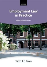 Book Employment Law in Practice by The City Law School