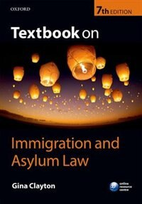 Book Textbook on Immigration and Asylum Law by Gina Clayton