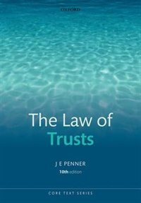 Book The Law of Trusts by James Penner