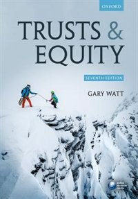 Book Trusts and Equity by Gary Watt