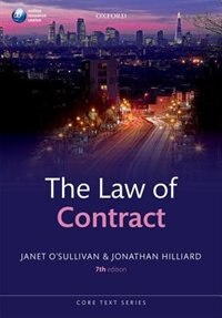 Book The Law of Contract by Janet OSullivan
