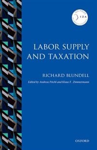 Book Labor Supply and Taxation by Richard Blundell