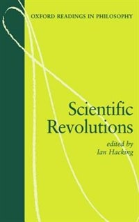 Book Scientific Revolutions by Ian Hacking