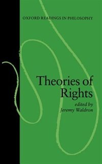 Book Theories of Rights by Jeremy Waldron