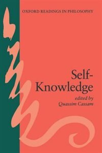 Book Self-Knowledge by Quassim Cassam
