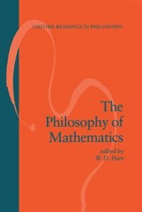 Book The Philosophy of Mathematics by W. D. Hart