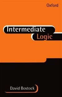 Book Intermediate Logic by David Bostock