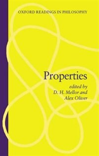 Book Properties by D. H. Mellor
