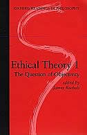 Book Ethical Theory 1: The Question of Objectivity by James Rachels