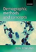 Book Demographic Methods and Concepts by Donald T. Rowland