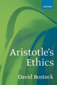 Book Aristotles Ethics by David Bostock
