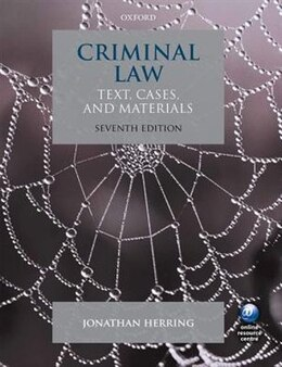 Book Criminal Law: Text, Cases, and Materials by Jonathan Herring
