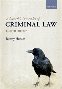 Ashworths Principles of Criminal Law