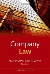 Book Company Law by Alan Dignam