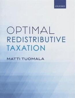 Book Optimal Redistributive Taxation by Matti Tuomala