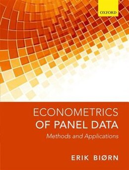 Book Econometrics of Panel Data: Methods and Applications by Erik Bjorn