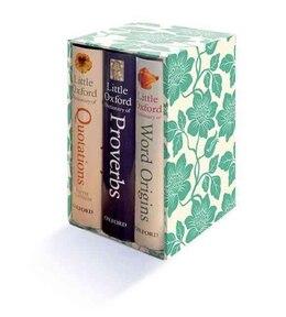 Book Little Oxford Gift Box: Little Oxford Dictionary of Quotations, Little Oxford Dictionary of… by Susan Ratcliffe