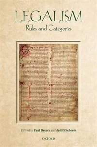 Book Legalism: Rules and Categories by Paul Dresch