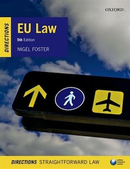 Book EU Law Directions by Nigel Foster