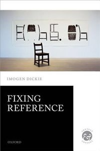 Book Fixing Reference by Imogen Dickie