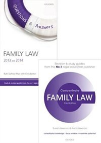 Family Law Revision Pack 2015: Law revision and study guide