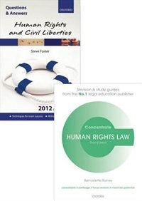 Human Rights Law Revision Pack 2015: Law revision and study guide