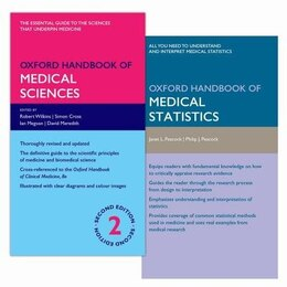Book Oxford Handbook of Medical Science 2e and Oxford Handbook of Medical Statistics 2e Pack by Robert Wilkins