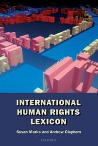 Book International Human Rights Lexicon by Susan Marks