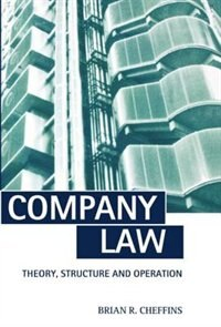 Book Company Law: Theory, Structure and Operation by Brian R. Cheffins