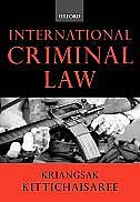 Book International Criminal Law by Kriangsak Kittichaisaree