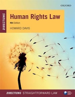 Book Human Rights Law Directions by Howard Davis
